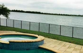 florida aluminum fence installation