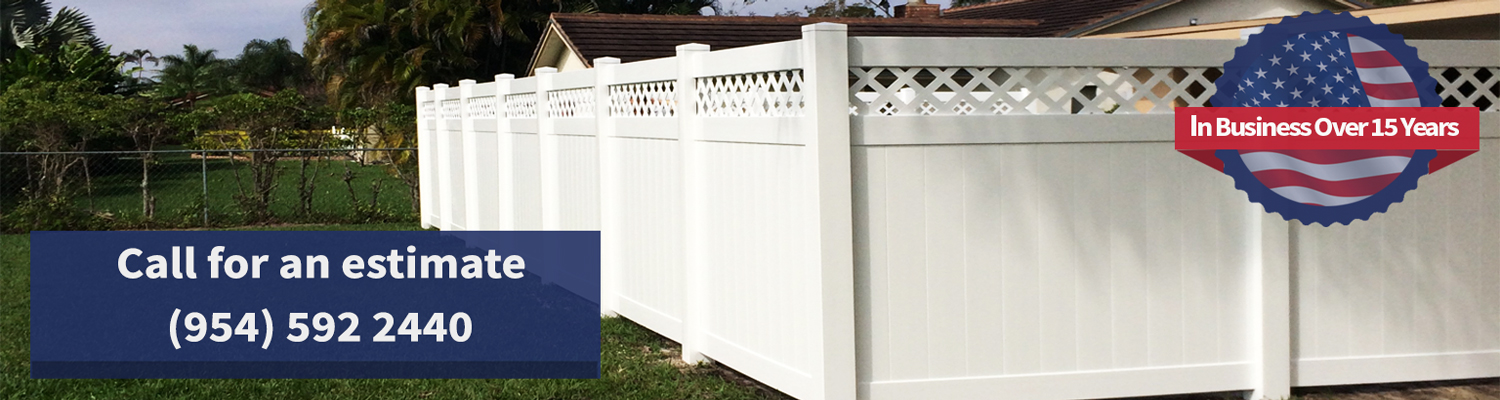 American Fence: Broward Fencing Installations