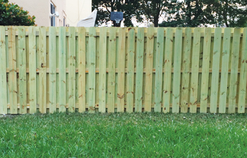 florida wood fence installation