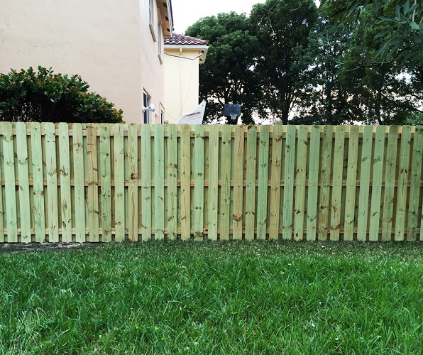 Wood Fence Hollywood, FL
